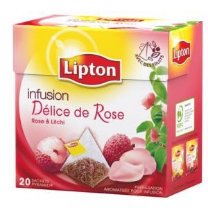 Infusion Lipton Délice de Rose