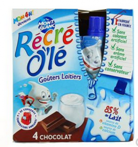 Goûters lactés Récré O'lé