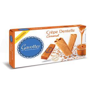 Crêpe Dentelle Caramel