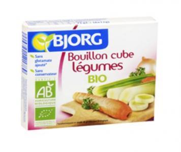 Bouillon cube légumes Bio