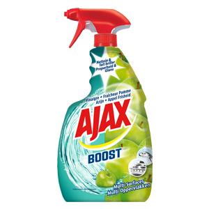 3 produits de la gamme Ajax Boost