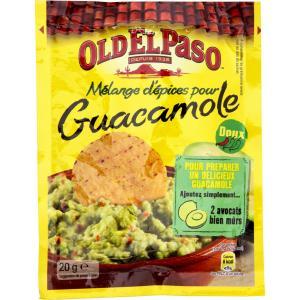 Préparation pour Guacamole