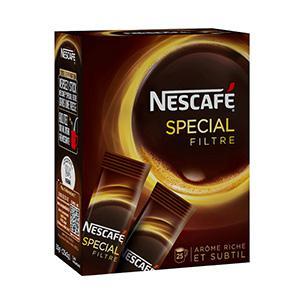 Café Nescafé special filtre en stick