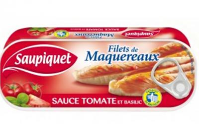 Filets de Maquereaux sauce tomate et basilic