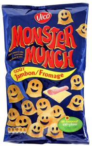 Monster Munch Jambon Fromage