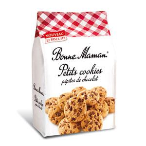 Petits cookies aux pépites de chocolat