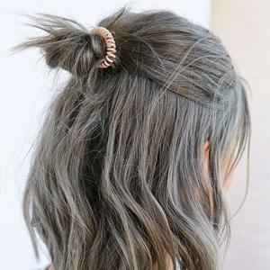 Élastique à cheveux invisible
