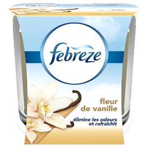 Bougie Parfumée Anti-Odeurs à la fleur de vanille