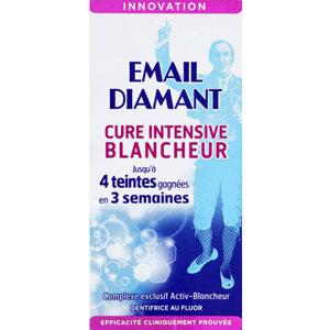 Dentifrice cure intensive blancheur