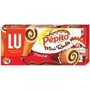 Pépito minis roulés chocolat