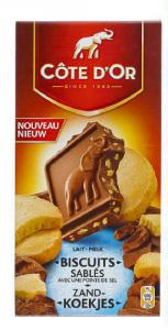 Chocolat Côte d'Or aux biscuits