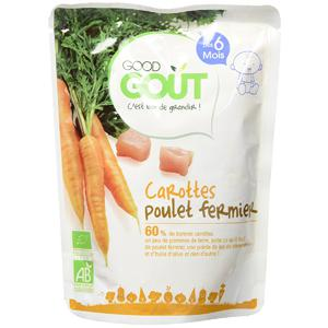 Petit Plat pour Bébé - Carotte-Poulet - Dès 6 mois