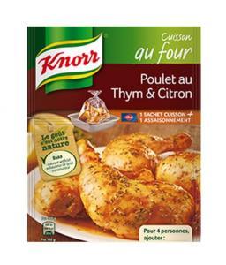 Sachet cuisson Poulet au citron et thym