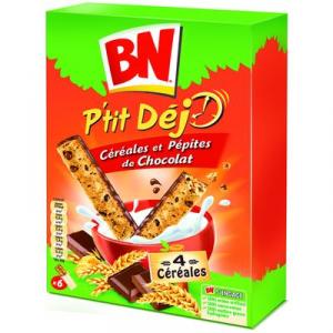P'tit Déj céréales et pépites de chocolat