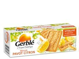 Biscuits Pavot Citron