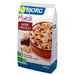 Muesli Avoine Chocolat Bio