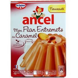 Mon Flan Entremets au Caramel