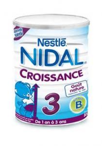 Nestlé Nidal croissance 3
