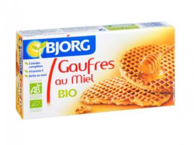 Gaufres au miel Bio