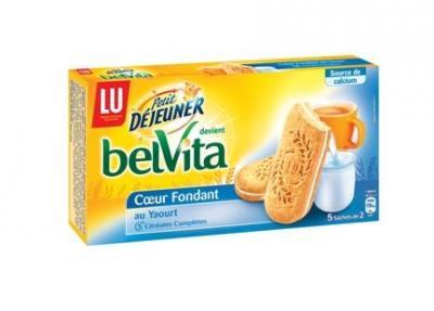P'tit déj Belvita fondant au yaourt