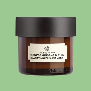 Masque gommant illuminateur au ginseng et riz chinois