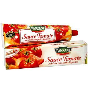 Sauce tomate cuisinée aux petits légumes