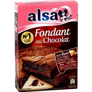 Préparation gâteau Fondant au chocolat