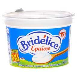 Crème fraîche épaisse 15% Mat. gr
