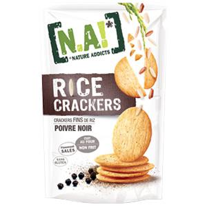Rice Crackers poivre noir