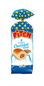 Pitch fourrés au chocolat au lait