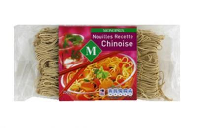 Nouilles Recette chinoise
