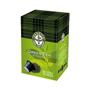 Capsules de thé vert