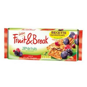 Les biscuits Fruit & Form aux fruits rouges