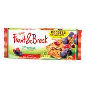 Les biscuits Fruit & Form aux fruits rouges
