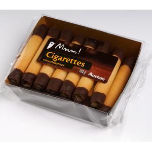 Cigarettes au chocolat