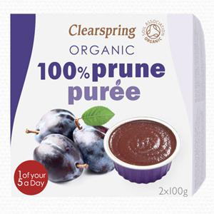 Purée de fruits à la prune