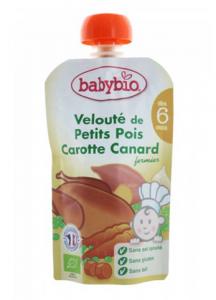 Velouté de Petits Pois Carotte Canard dès 6 mois