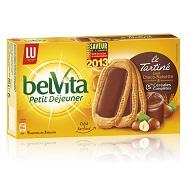 Belvita tartiné chocolat noisettes