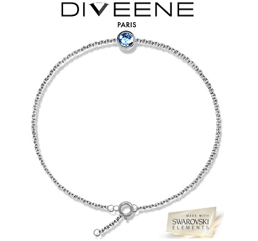Bracelet Diveene lady light Saphirre - Bleu
