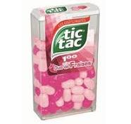 Tic Tac duo de fraises